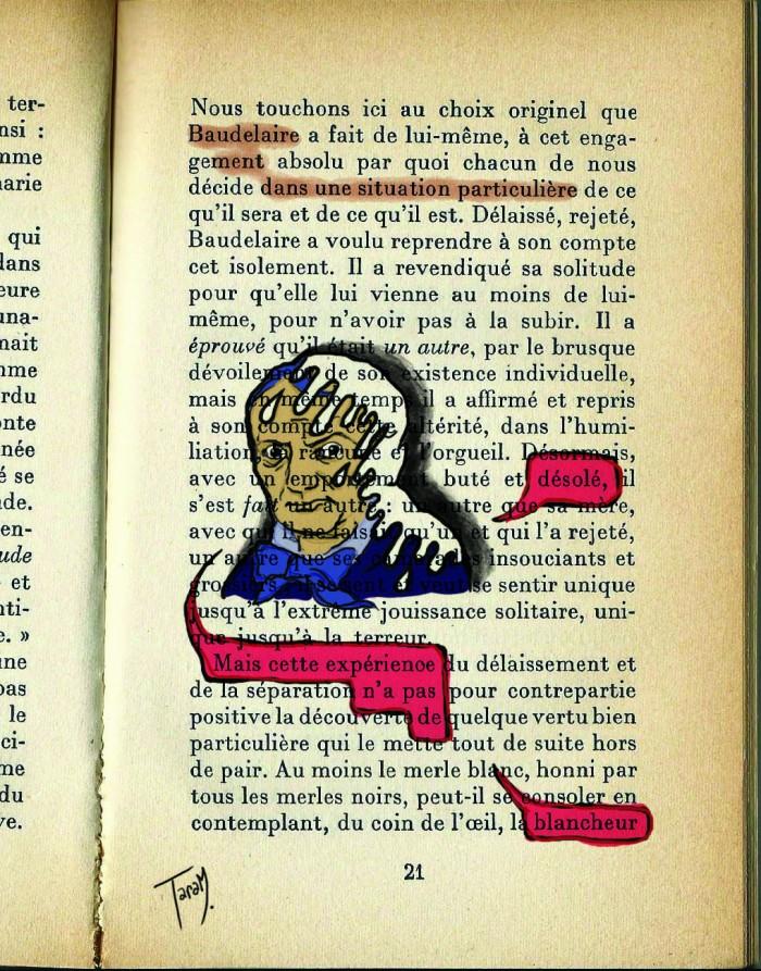 Baudelaire - filigrane à Taram